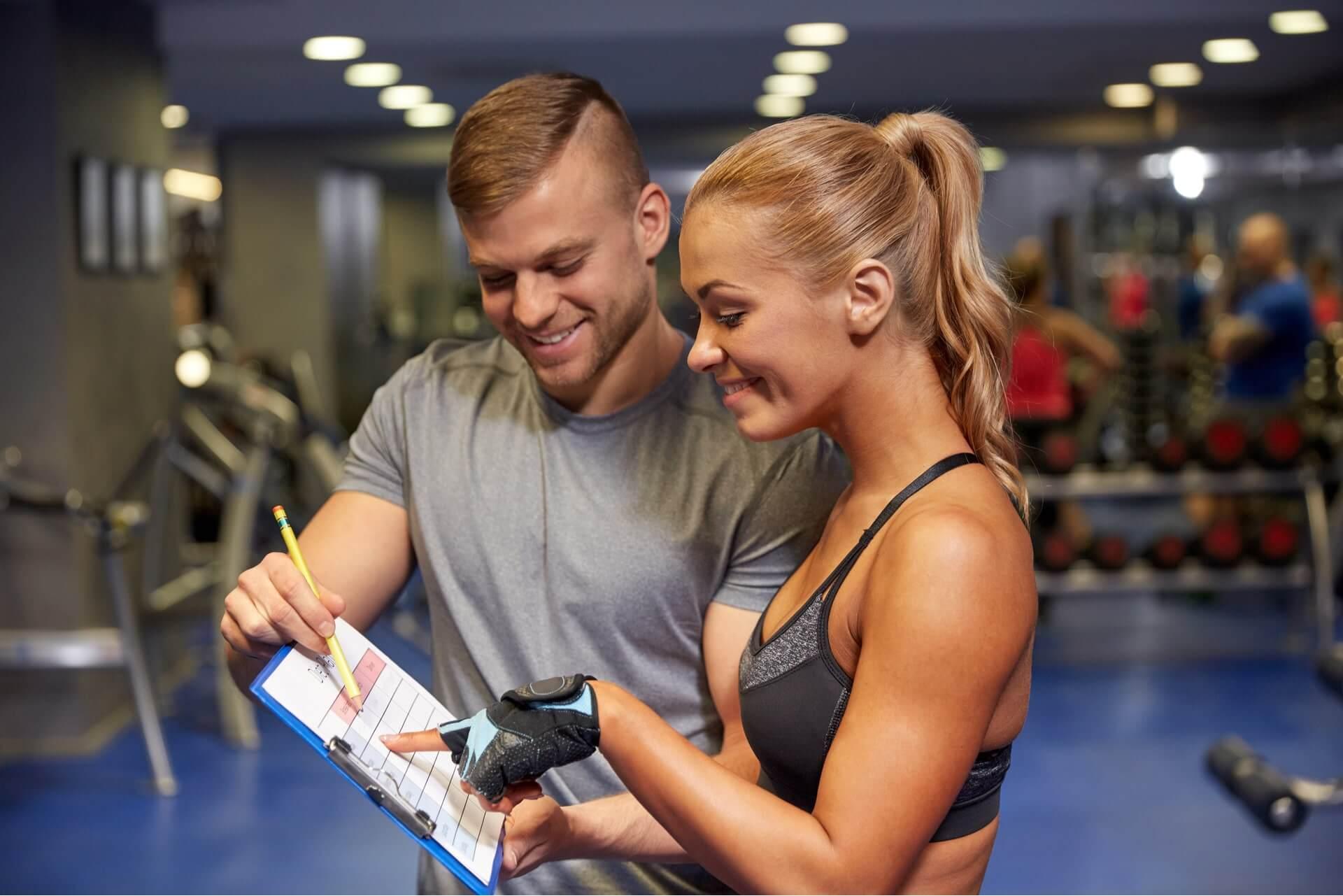 Scheda allenamento palestra